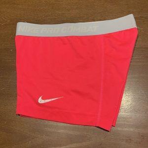 Women's Nike Pro Combat Compression Shorts